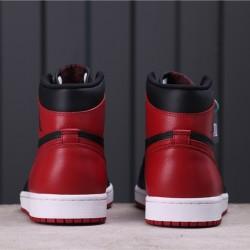 """Air Jordan 1 High """"Bred"""" 555088-001 Red Black"""