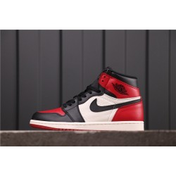 "Air Jordan 1 ""GYM RED"" 555088-610 Red Black White"