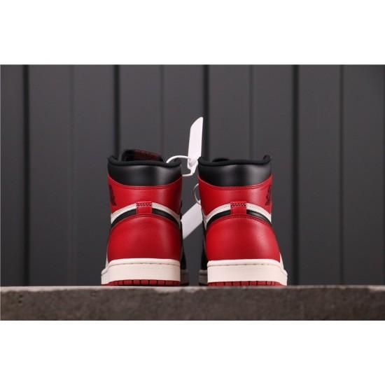Air Jordan 1 GYM RED 555088-610 Red Black White