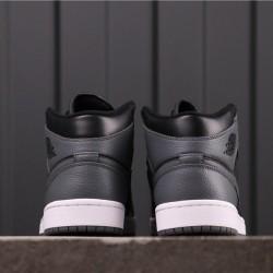 """Air Jordan 1 High """"Dark Grey"""" 554725-041 Brown Black"""