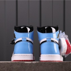 """Air Jordan 1 High """"Fearless"""" CK5666-100 Blue Red White"""