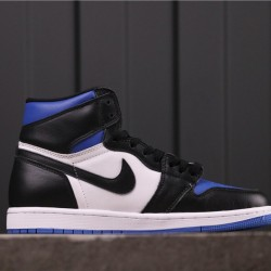 "Air Jordan 1 High ""Game Royal"" 555088-041 Black Blue"