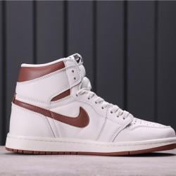 """Air Jordan 1 High """"Mocha"""" 555088-105 Grey Brown"""