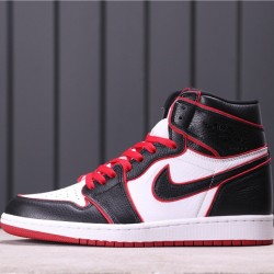 """Air Jordan 1 High """"Meant To Fly"""" 555088-062 Black White Red"""