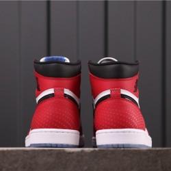 """Air Jordan 1 High OG """"Origin Story"""" 555088-602 Red White Black"""