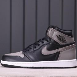 """Air Jordan 1 High OG """"Shadow"""" 555088-013 Black Grey"""