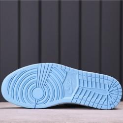 """Air Jordan 1 High """"UNC"""" CD0461-401 Blue Black White"""