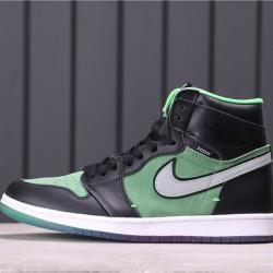 """Air Jordan 1 High Zoom """"Rage Green"""" CK6637-002 Green Black"""