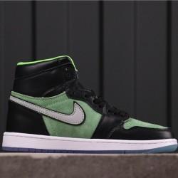 """Air Jordan 1 High Zoom """"Rage Green"""" CK6637-300 Green Black"""