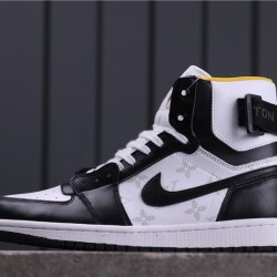 "Air Jordan 1 High Zoom ""Rage Green"" LV6568-103 Black White"