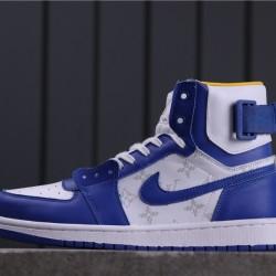"Air Jordan 1 High Zoom ""Rage Green"" LV6568-103 Blue White"