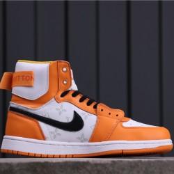 """Air Jordan 1 High Zoom """"Rage Green"""" LV6568-103 Orange White Black"""
