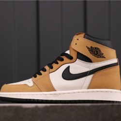 "Air Jordan 1 ""Rookie of the Year"" 555088-700 Yellow White Black"