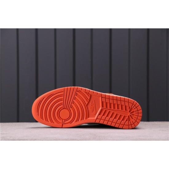 """Air Jordan 1 """"Shattered Backboard"""" 555088-005 Orange Black White"""