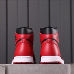 "Facetasm x Air Jordan 1 Mid ""VARSITY RED"" BQ4422-600 Red Black"