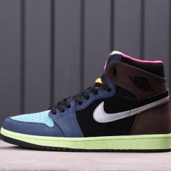 "Air Jordan 1 High OG ""Bio Hack"" 555088-201 Black Green"