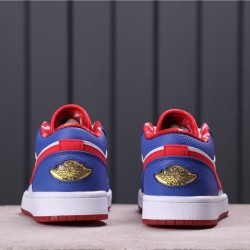 Air Jordan 1 Low 309192-161 Blue Red