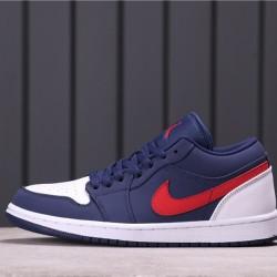 "Air Jordan 1 LOW ""EQUALITY"" CZ8454-400 White Blue Red"