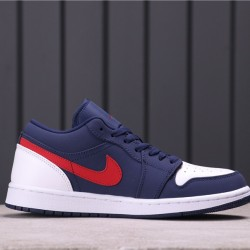 "Air Jordan 1 LOW ""EQUALITY"" CZ8454-400 White Blue Red"