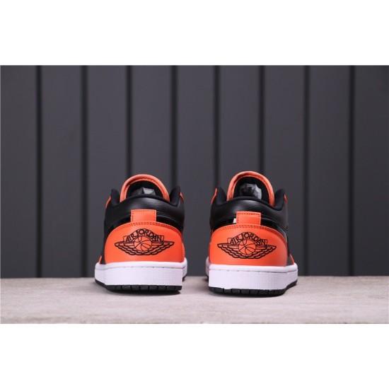 "Air Jordan 1 LOW ""EQUALITY"" CK3022-008 Orange Black"