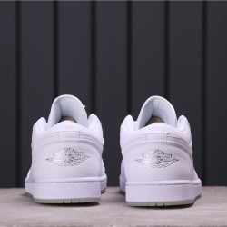 Air Jordan 1 Low 309192-111 All White