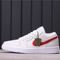 Air Jordan 1 Low 350571-161 White Red