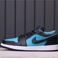 Air Jordan 1 Low 553558-026 Black Blue