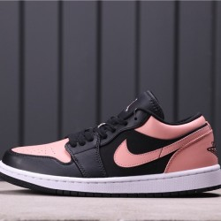 Air Jordan 1 Low 553558-034 Pink Black