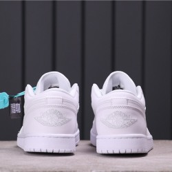 Air Jordan 1 Low 553558-111 All White