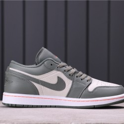 Air Jordan 1 Low 553558-121 Green White Black