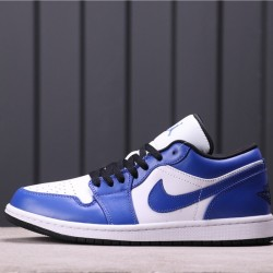 Air Jordan 1 Low 553558-401 Blue White