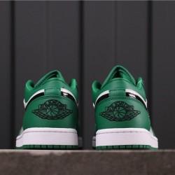 Air Jordan 1 Low 553560-301 Green White Black
