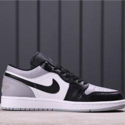 """Air Jordan 1 Low """"Atmosphere"""" 553558-110 Grey black"""