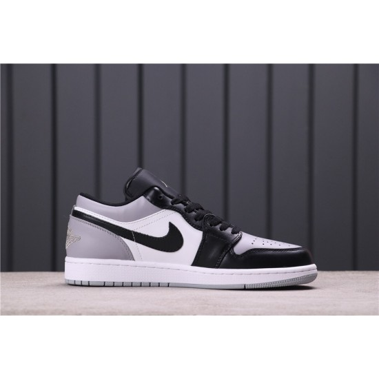 "Air Jordan 1 Low ""Atmosphere"" 553558-110 Grey black"