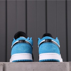 "Air Jordan 1 Low BHM ""EQUALIT"" CK3022-004 White Blue Black"