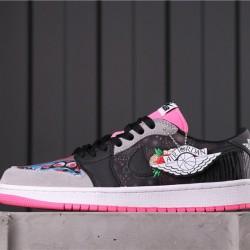 "Air Jordan 1 Low BHM ""EQUALITY"" CW0481-006 Pink Black White"