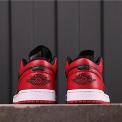 Air Jordan 1 Low CQ4422-600 Red Black
