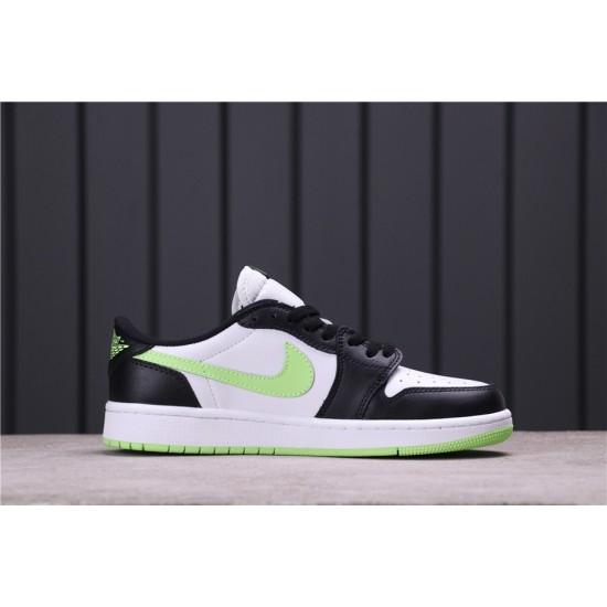 Air Jordan 1 Low OG Ghost Green CZ0790-103 White Black Green