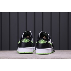 "Air Jordan 1 Low OG ""Ghost Green"" CZ0790-103 White Black Green"