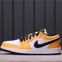 """Air Jordan 1 Low """"Sweater"""" CZ4776-107 Orange White"""