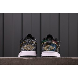 "Air Jordan 1 Low ""BHM"" CW5580-001 Brown Black"