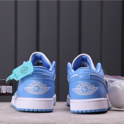 "Air Jordan 1 ""UNC"" AO9944-441 Blue White"