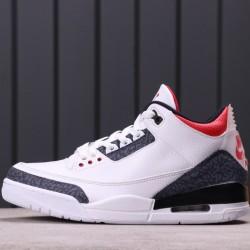 "Air Jordan 3 SE DNM ""Fire Red"" CZ6431-100 White Black"