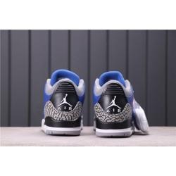 Men Air Jordan 3 Varsity Royal CT8532-400 Blue