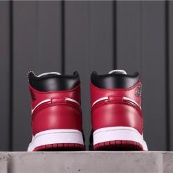 Air Jordan 1 Mid CZ4385-016 Black Red White