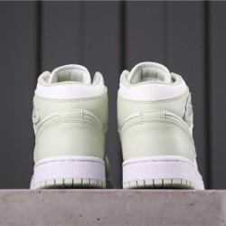 "Air Jordan 1 Mid ""BHM EQUALITY"" CV5280-103 White Green"