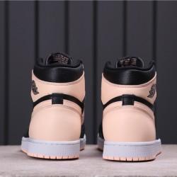 "Air Jordan 1 Mid ""Crimson Tint"" 575441-081 Pink Black"