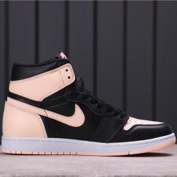 "Air Jordan 1 High ""Crimson Tint"" 555088-081 Pink Black"