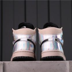 "Air Jordan 1 Mid ""Fearless"" CU2803-200 Pink Silver"