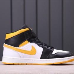 "WMNS Air Jordan 1 ""Laser Orange"" CV5276-107 Yellow White Black"